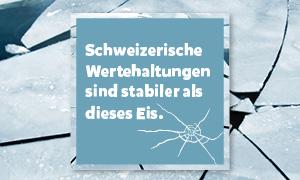 Vier stabile Schweizer Werte