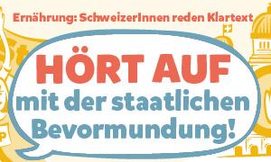 Ernährung und Bewegung: Herr und Frau Schweizers Gebote